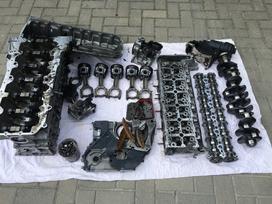 Bmw 730 variklio detalės