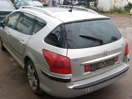 Peugeot 407. Dalis siunciu.detali vysylaju