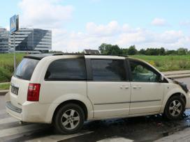 Dodge Grand Caravan. Amerikietiškų