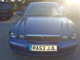 Jaguar X-type dalimis. Katik parvarytas