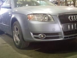 Audi A4 dalimis. Kuriasi, važiuoja, variklio