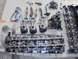 Bmw X5 stūmokliai variklio galvutė