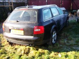 Audi A6. Automobilis parduodamas dalimis.
