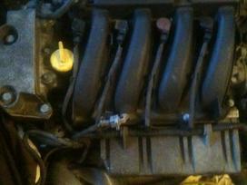Renault Scenic pavarų dėžė, variklis