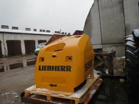 Liebherr 556, sandėliavimo ir krovimo technika