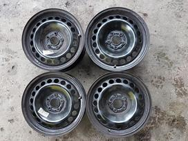 Audi A-1, A-2, plieniniai štampuoti, R15