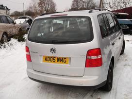 Volkswagen Touran. Automobilis parduodamas