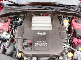 Subaru Outback. Variklis dalymis.