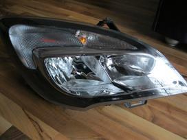 Opel Meriva. žibintas- radijatoriai-