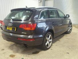 Audi Q7 dalimis. Audi q7, 7 vietos, 3.0 l,