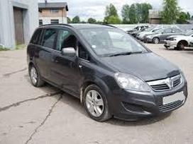 Opel Zafira. Turime daugiau opel zafira