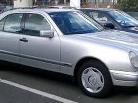 Mercedes-benz E klasė dalimis. Dalimis