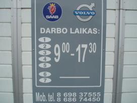Saab 9-5. Automatas,mehanika,sedanas
