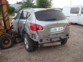 Nissan Qashqai. доставка бу запчастей с