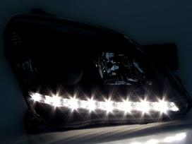 Opel Astra. nauji tuning zibintai, groteles .