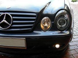 Mercedes-benz Clk klasė. Naujos tuning dalys.