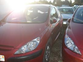 Peugeot 307 dalimis. Iš prancūzijos. esant