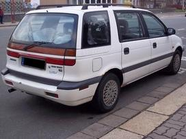 Mitsubishi Space Wagon. Japoniski ir