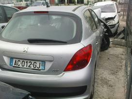 Peugeot 207 dalimis. Iš prancūzijos. esant
