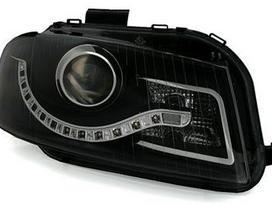 Audi A3 dalimis. Priekiniai tuning žibintai