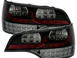 Audi Q7 dalimis. Galiniai led diodiniai