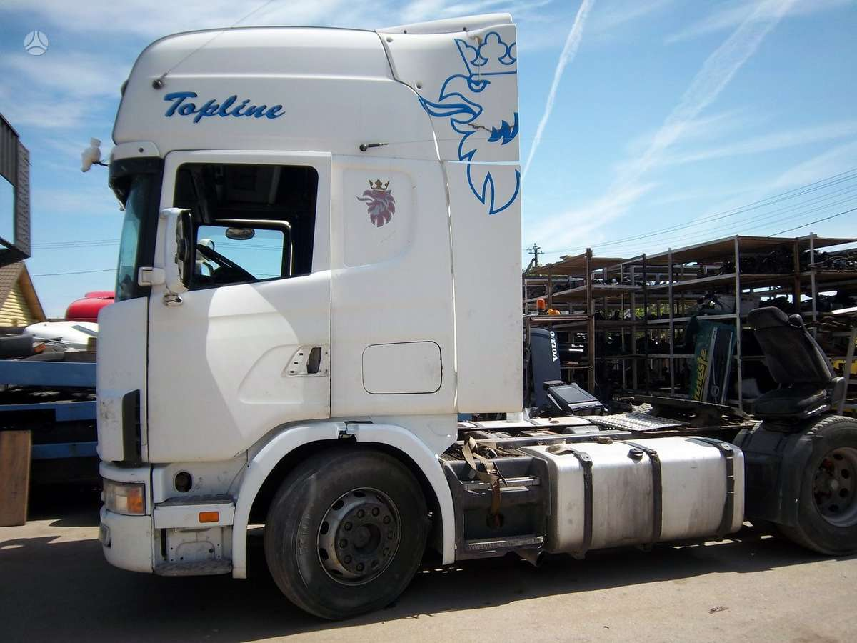 Scania, 124 l, vilkikai