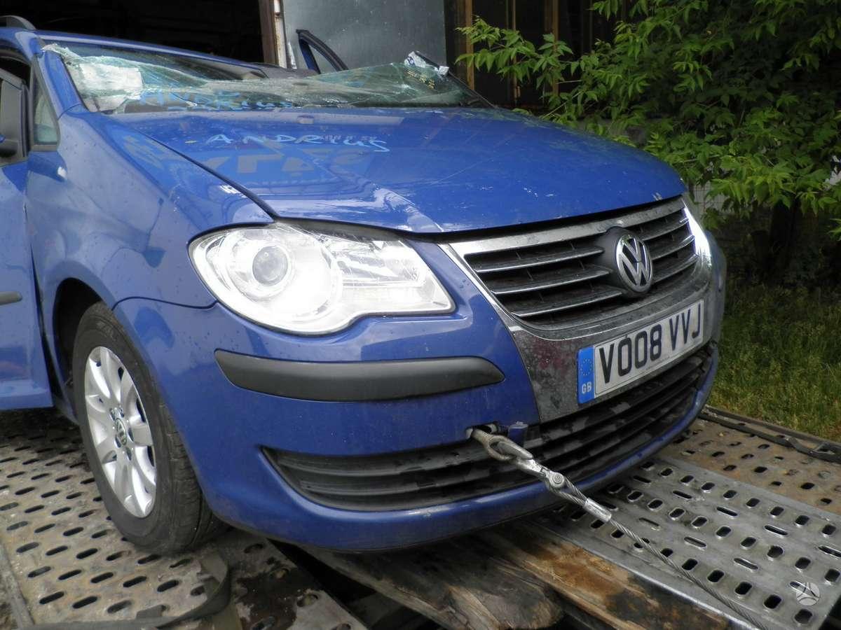 Volkswagen Touran dalimis. 1.9 mech anglas dalimis