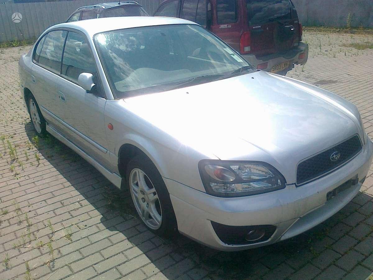 Subaru Legacy. Naudotos japonisku ir kortejietisku automobiliu