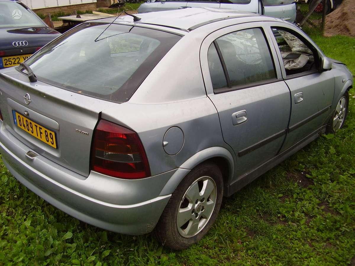 Opel Astra. 2.0 dti kuriasi vaziuoja yra daugiau ardomu auto