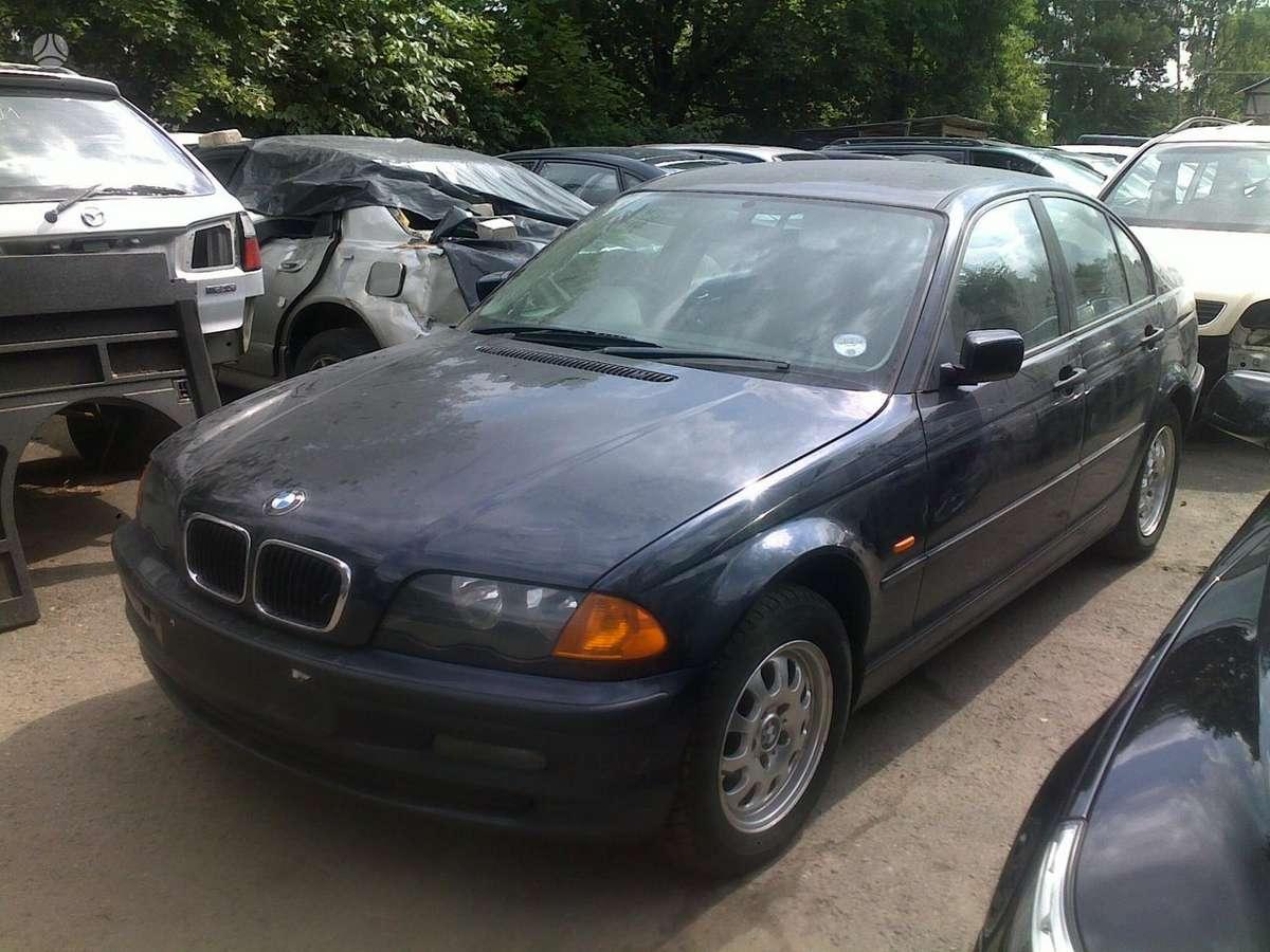 BMW 3 serija. Naudotos automobiliu dalys japoniski ir vokiski