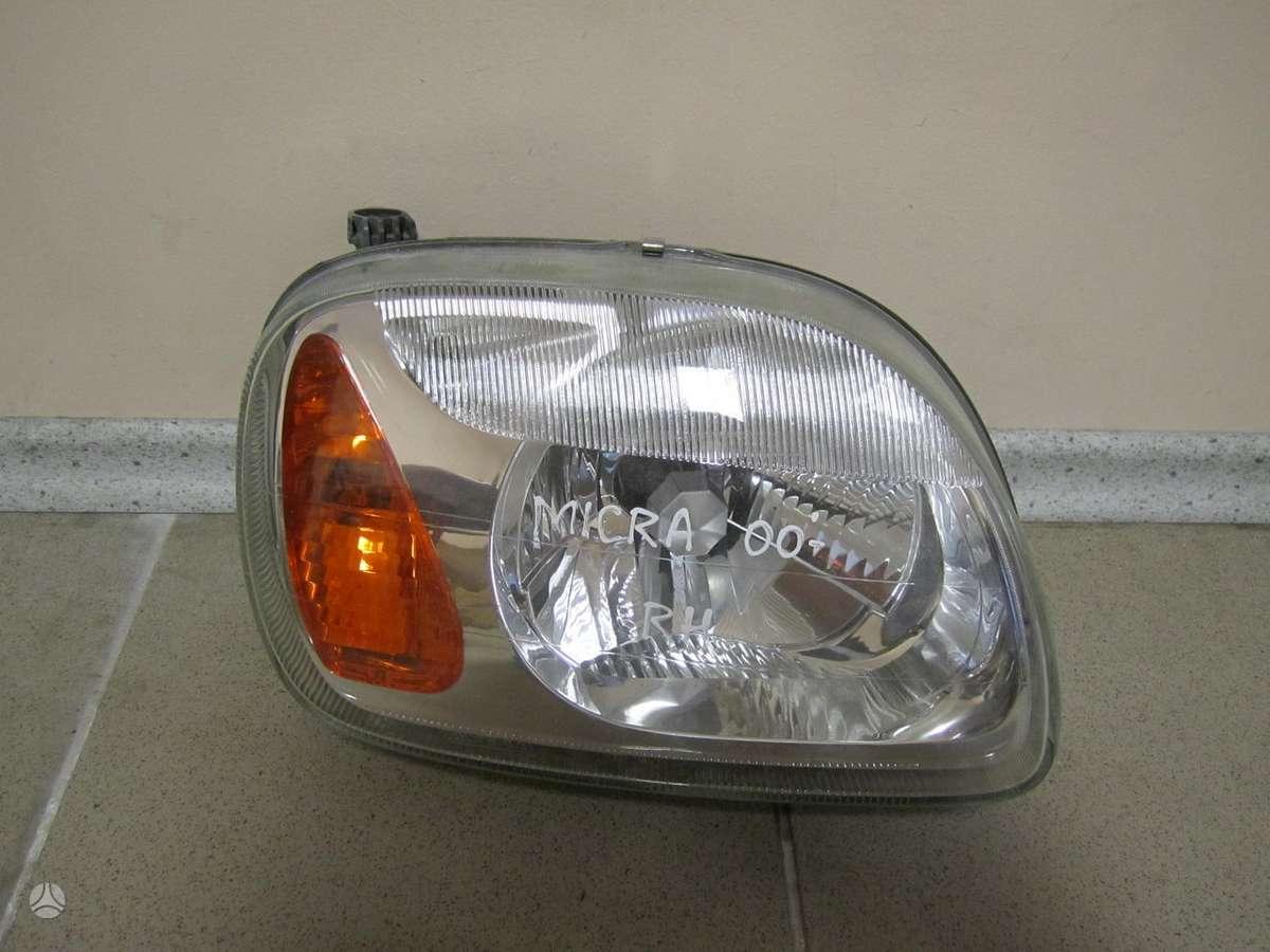 Nissan Micra. Naudotos ir naujos japoniškų ir korėjietiškų