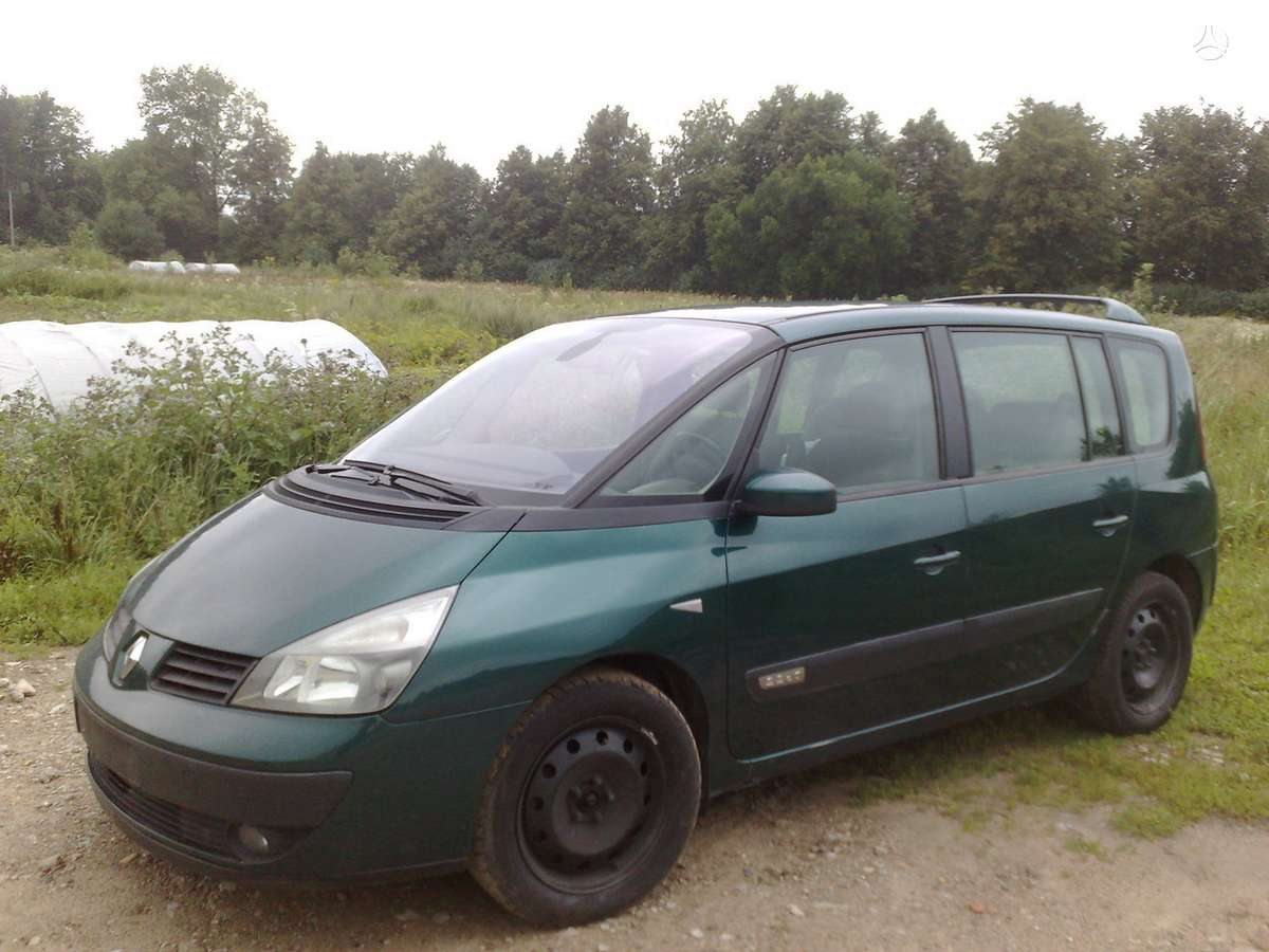 Renault Espace dalimis. Automobilis is  olandijos.turime ir su 2.