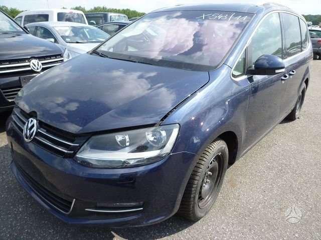 Volkswagen Sharan. Automobilis dalimis visi varantys ratai