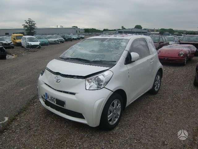 Toyota iQ dalimis. Is anglijos, l.maza rida, srs, abs, lieti