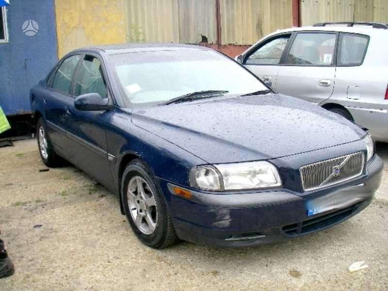 Volvo S80 dalimis. Volvo s80 2,4l , daliu pristatymas i kitus