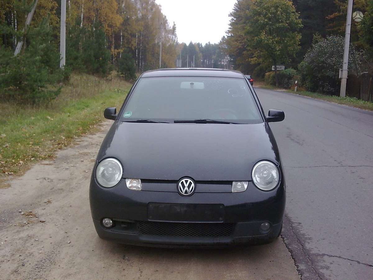 Volkswagen Lupo dalimis. Didelis vw lupo1,2 tdi - automatų