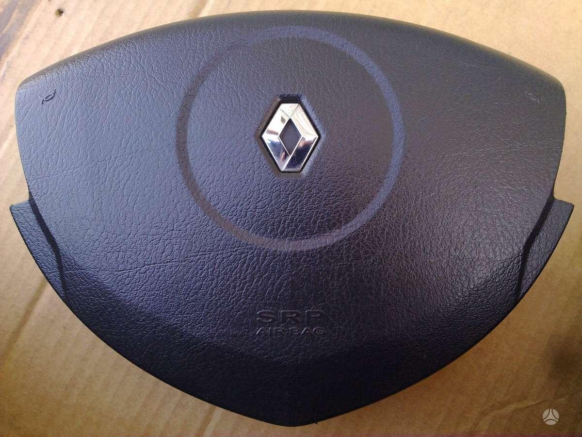 Renault Clio. Dangtelis vaire oro srauto matuoklė