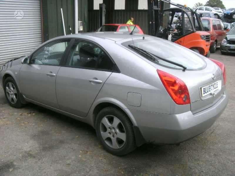 Nissan Primera. Dci, lieti ratai,galine vaizdo kamera