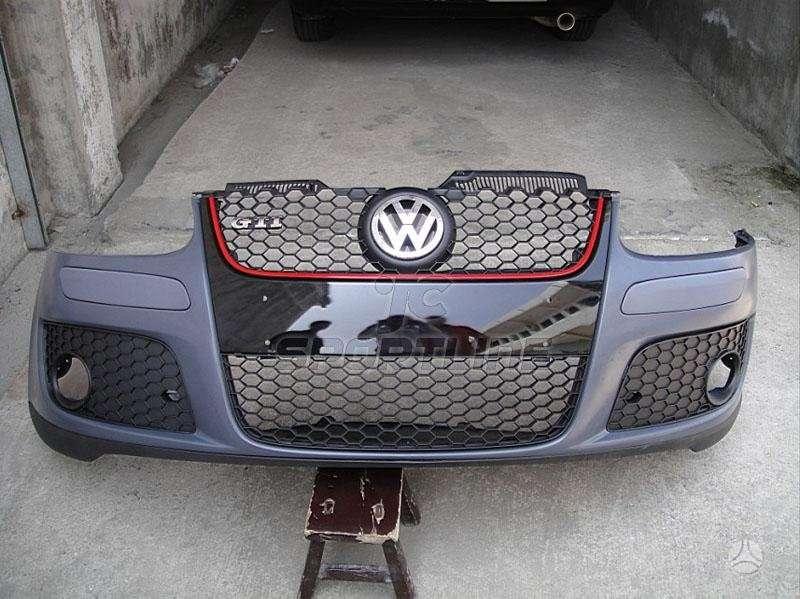 Volkswagen Golf. Gti kebulo dalys: groteles,bamperis,prieš
