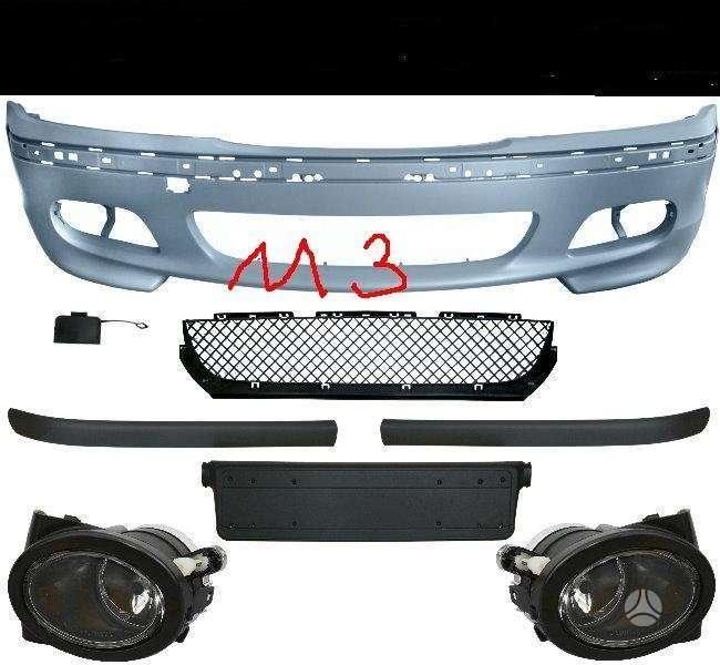 BMW M3. Parduodamos naujos tuning dalys. m3 ; m -tech priekiniai