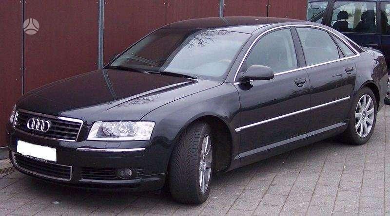 Audi A8. Varikliai greiciu dezes kitos a8 detales. uab