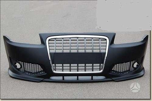 Audi A3. Naujos tuning dalys. priekiniai s-line bamperiai -