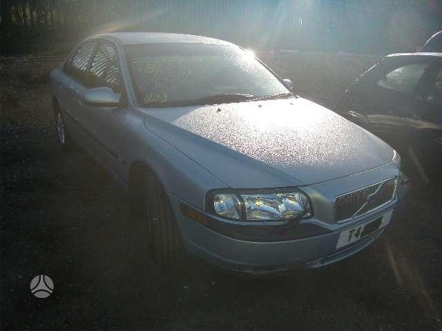 Volvo S80. 2,4 benzinas,automatas,šviesus odinis salonas,lieti