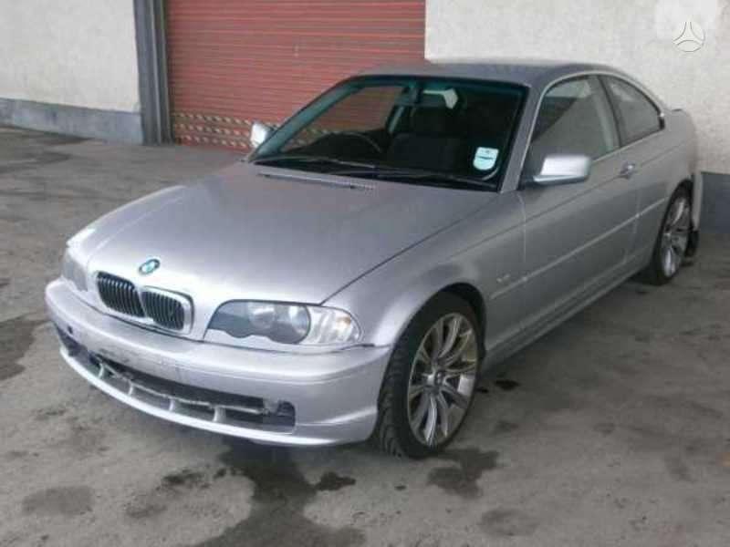 BMW 3 serija. Serviso paslaugos (variklių, važiuoklės keitimas