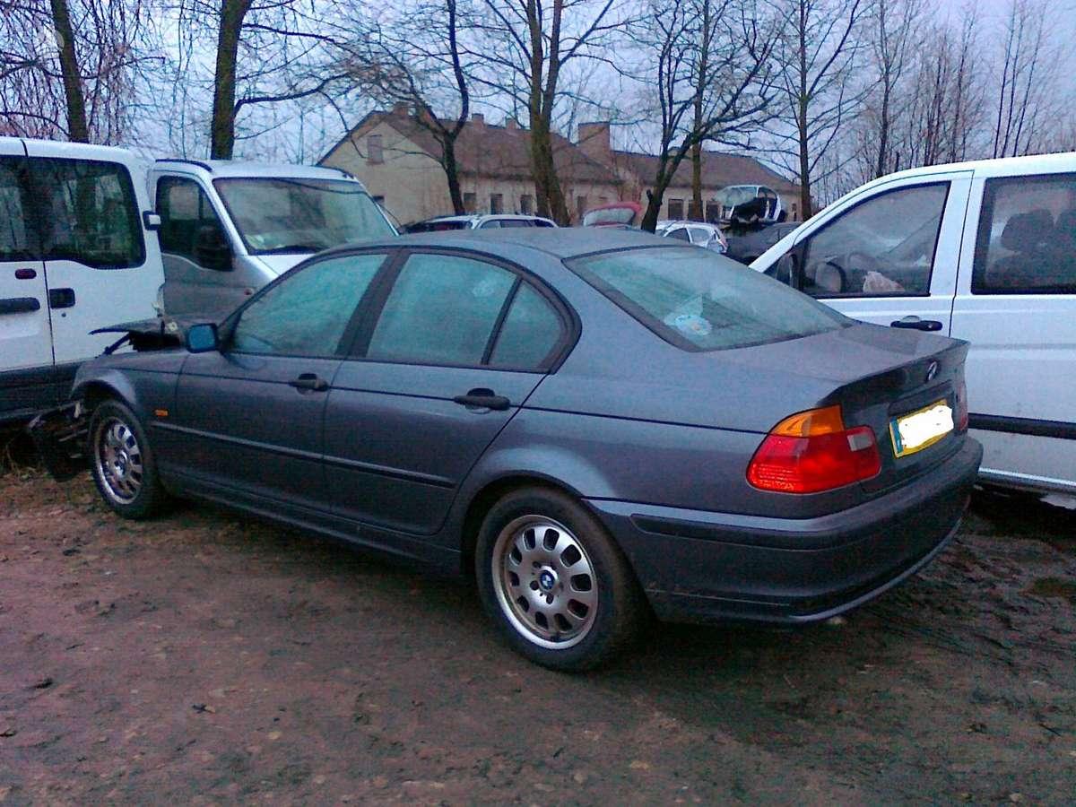 BMW 320 dalimis. Iš prancūzijos. esant galimybei, organizuojam