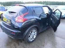 Nissan Juke. 4wd,turbo,juoda oda,navigacija  доставка бу запчас