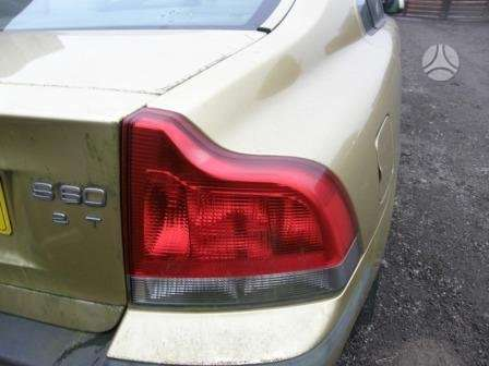 Volvo S60. Automobilis dalimis. variklis 2.0 tb. salono ir