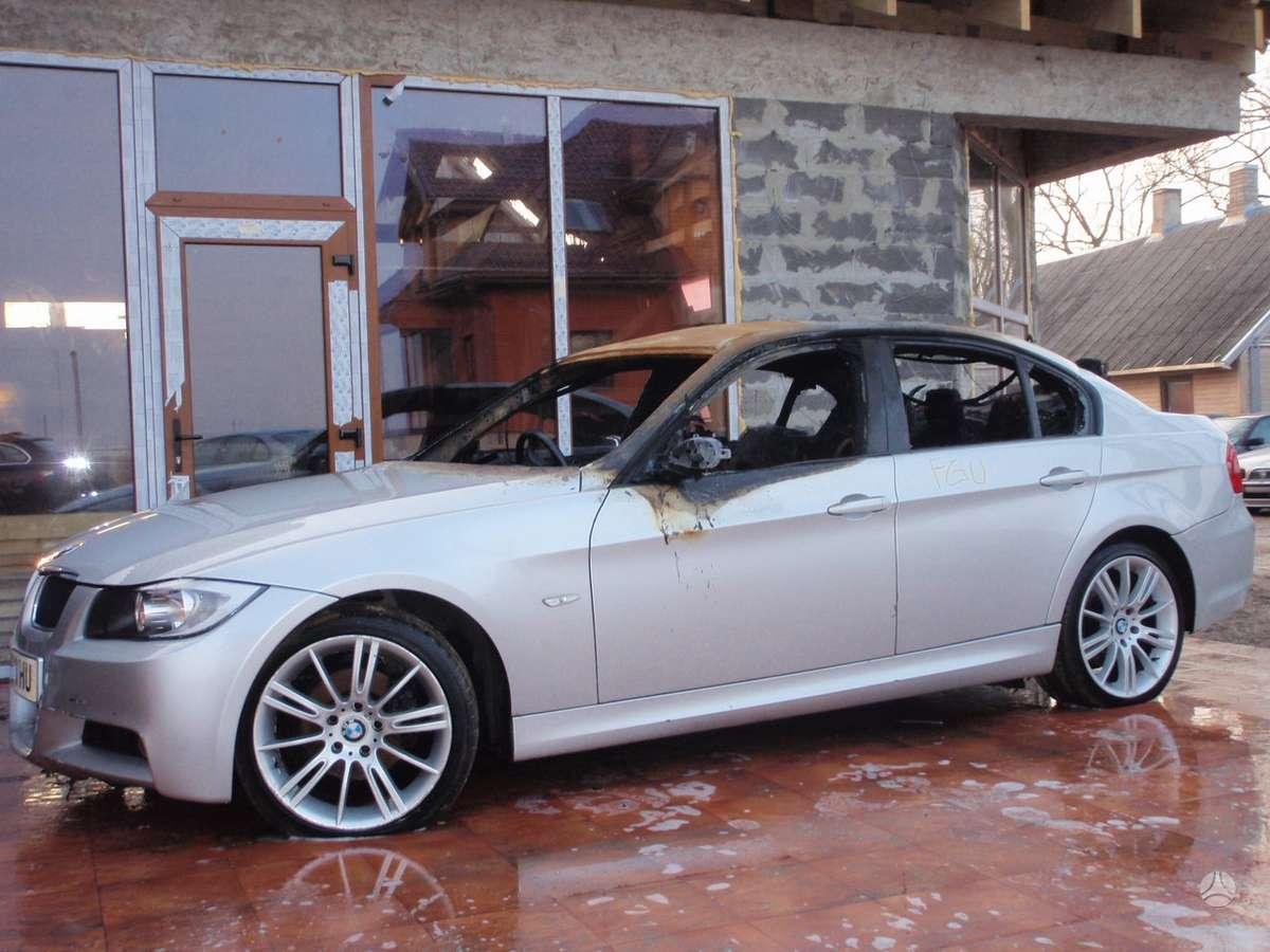 BMW 3 serija dalimis. Dalimis: bmw e91lci 320d m touring 2010m.