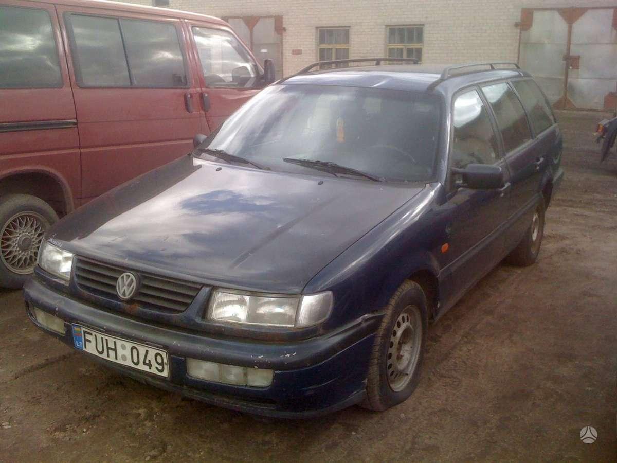 Volkswagen Passat dalimis. Prekyba originaliomis naudotomis