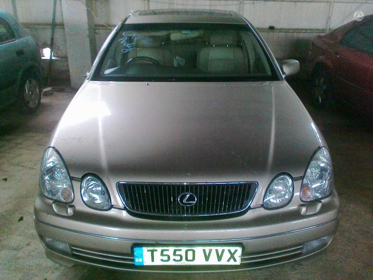 Lexus GS 300 dalimis. Dalimis - lexus gs300 1999 3.0l 2997cm3
